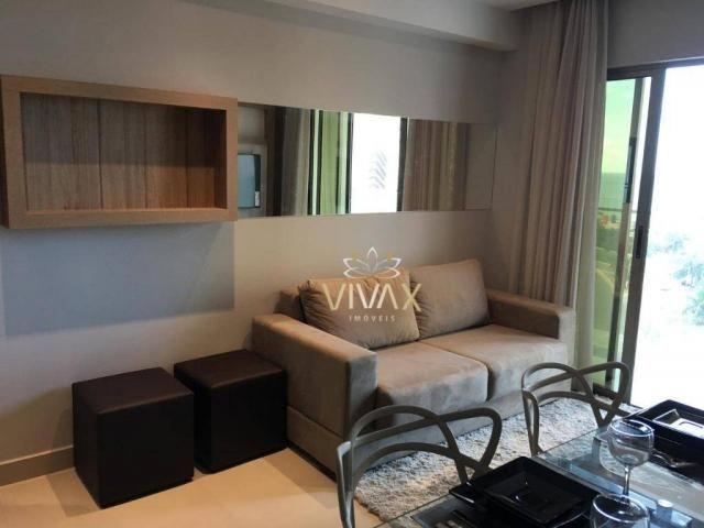 Flat com 1 dormitório à venda, 43 m² por R$ 360.000 - Ponta Negra - Natal/RN - Foto 6