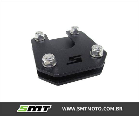Base Descanso Cb500x Ampliado Big Foot Honda Cb 500x Smt - Foto 2