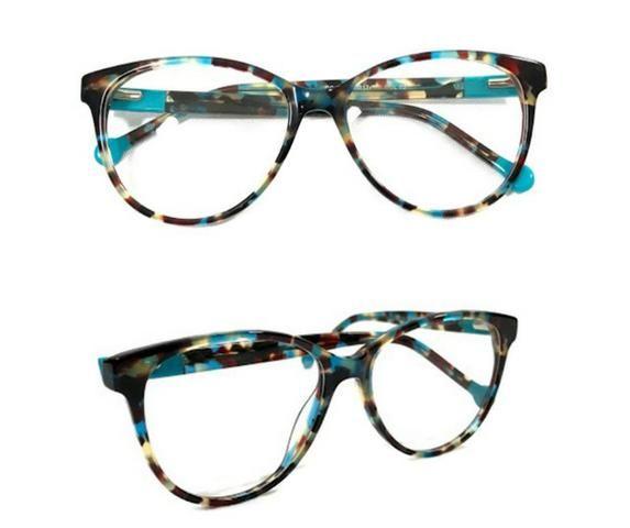 da524cbed Armação De Óculos Para Grau Feminino Acetato Chapa - Bijouterias ...
