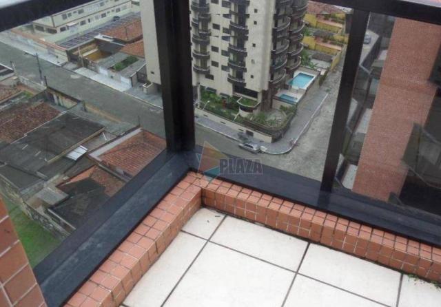 Apartamento com 2 dormitórios para alugar, 90 m² por R$ 3.000,00/mês - Vila Guilhermina -  - Foto 15