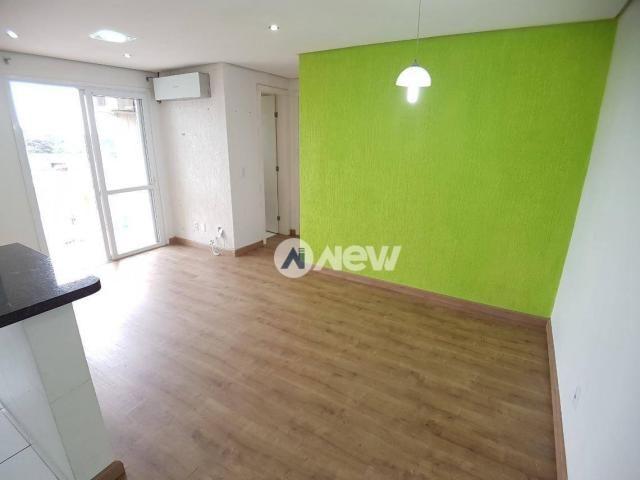 Apartamento com 2 dormitórios à venda, 57 m² por r$ 175.000 - bairro inválido - cidade ine - Foto 3
