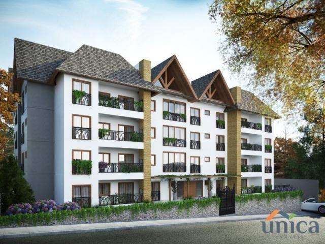 Apartamento à venda com 1 dormitórios em Cascatas, Campo alegre cod:UN01106