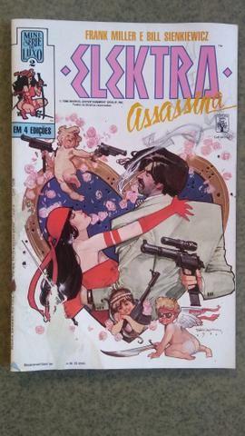 Elektra Assassina - Mini Série 4 Edições + Encadernada - Foto 3