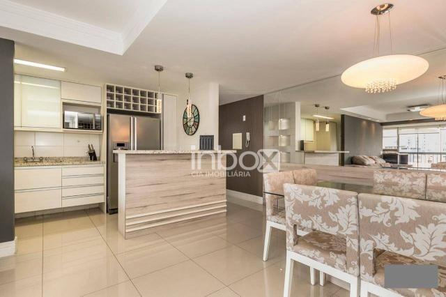 Magnífico apartamento com 2 dormitórios para alugar, 86 m² por R$ 4.800/mês - Três Figueir - Foto 3