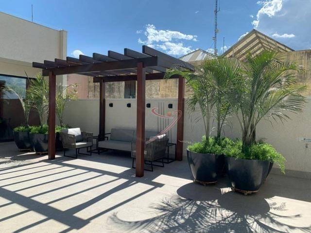Apartamento com 1 dormitório para alugar, 50 m² por R$ 2.500,00/mês - Edifício Riverside - - Foto 18