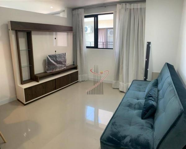 Apartamento com 1 dormitório para alugar, 50 m² por R$ 2.500,00/mês - Edifício Riverside - - Foto 8