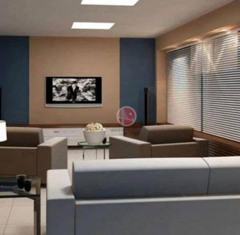 Apartamento com 3 dormitórios à venda, 87 m² por R$ 430.000,00 - Porto das Dunas - Eusébio - Foto 3