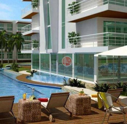 Apartamento com 3 dormitórios à venda, 87 m² por R$ 430.000,00 - Porto das Dunas - Eusébio - Foto 7