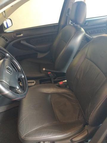 Civic 2003/2004 LXL completo preto - Foto 5