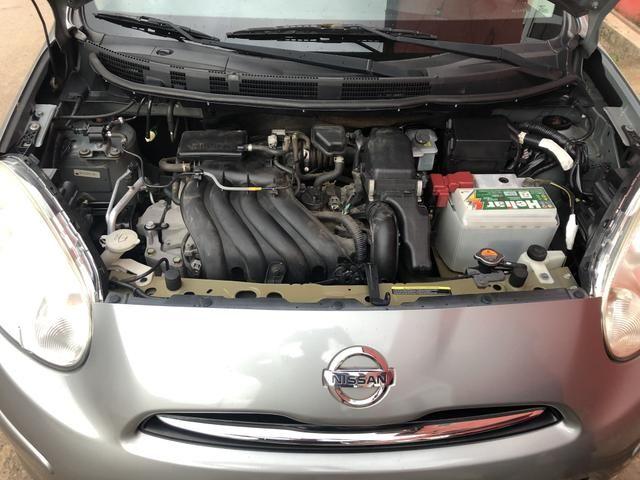 [TROCO OU VENDO] Nissan MARCH, 1.6, 12/13, completão - Foto 6