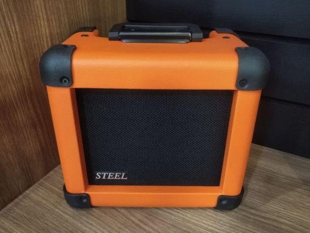 Amplificador p guitarra Wr Audio Steel 20gt Mixer Instrumentos Musicais - Foto 5