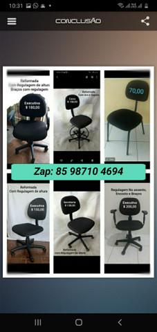 Cadeiras De Escritório