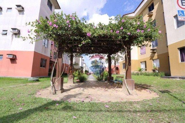 Apartamento com 3 dormitórios à venda, 62 m² por R$ 135.807 - Cond. Jasmim - Tarumã Manaus - Foto 2