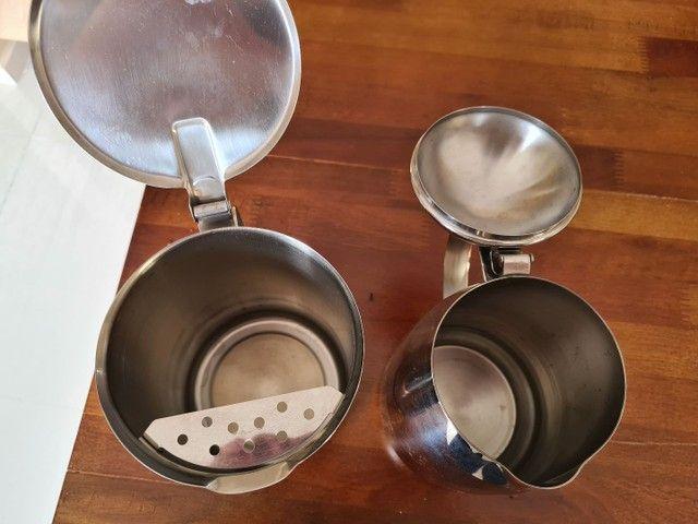 Kit bule para chá, café, leite e jarra para água  - Foto 4