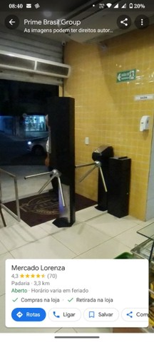 Catraca de acesso henry , controle de acesso.   - Foto 2