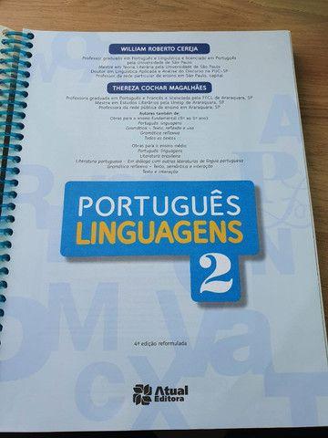 Livro de Português Linguagens 2 - Willian Cereja e Thereza Cochar