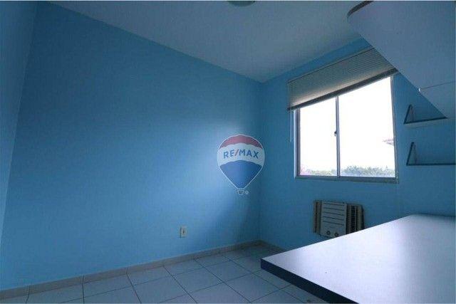 Apartamento com 3 dormitórios à venda, 62 m² por R$ 135.807 - Cond. Jasmim - Tarumã Manaus - Foto 8