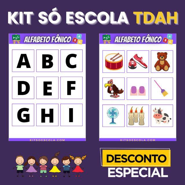 .:: Kit de Atividades ::. Kit T D A H - Foto 2