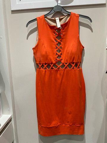 Vestido lança perfume P (veste P/M)  - Foto 4