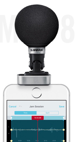 Microfone shure digital iOS MV88 - Foto 4