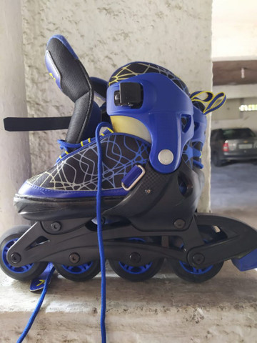 Vendo patins infantil tam 33-35 - Foto 4