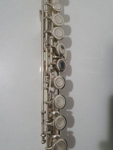 Flauta Eagle prateada  - Foto 5