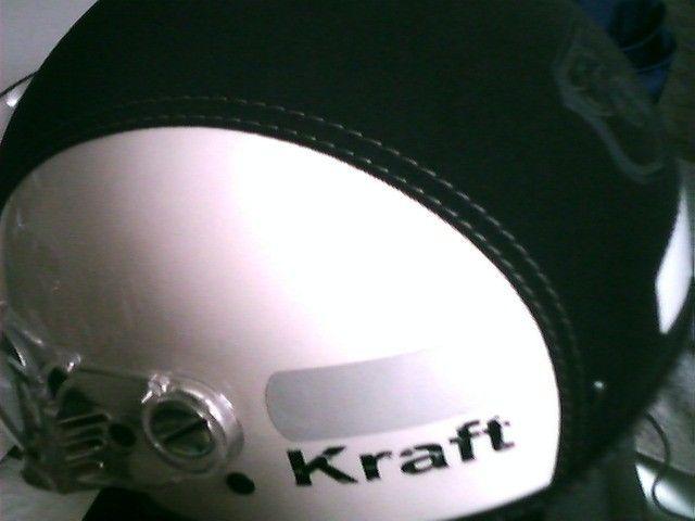 Capacete Kraft Aberto Com Óculos Interno Nº 56 ao 58  Praticamente sem Uso - Foto 7