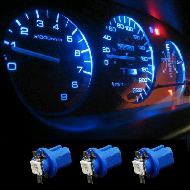 Lâmpada LED para Painel de Carro B8 5D 5050 1 LED/SMD T5