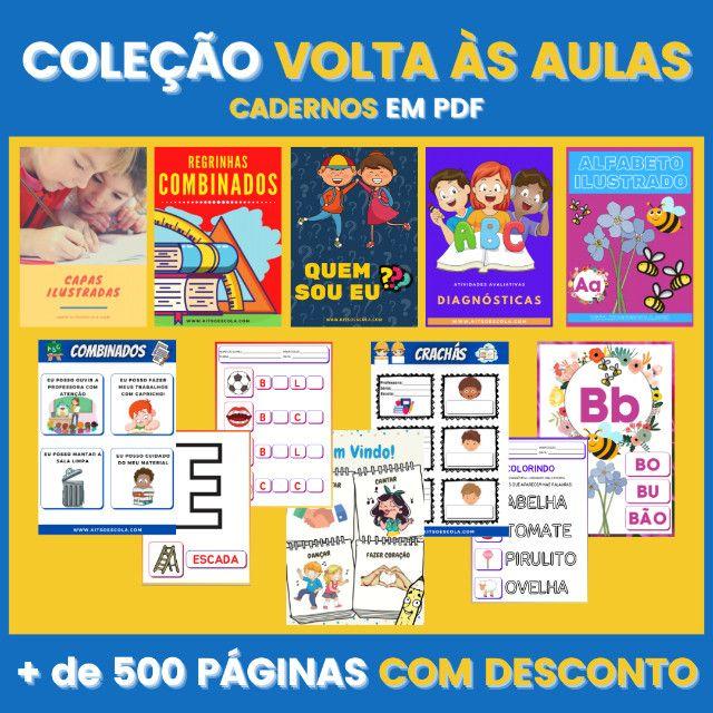 .:: Kit de Atividades ::. Kit Volta as Aulas - Foto 6