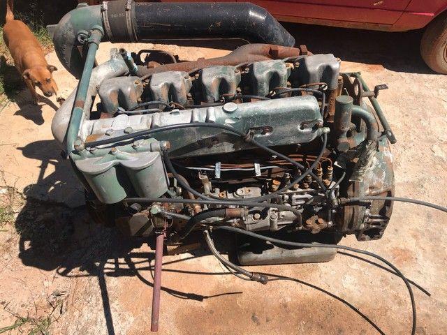 Motor Mercedes 449 completo