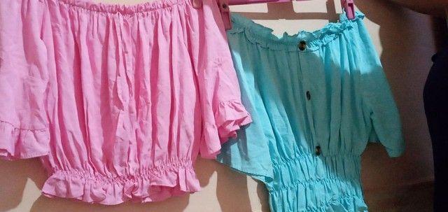 Short, Saias, Vestidos, Camisas, Brusas... - Foto 6