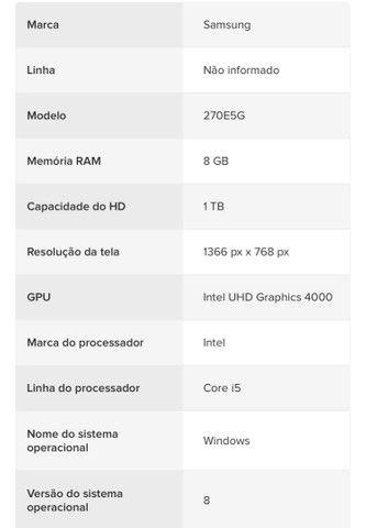 Samsung Notebook 270e5g - Foto 5