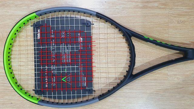 Raquete de tenis Wilson Blade 99 Team V7 - Foto 3