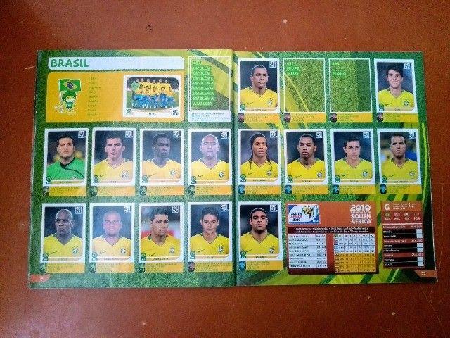 Álbum Copa Do Mundo 2010 África Do Sul - Panini - Foto 6