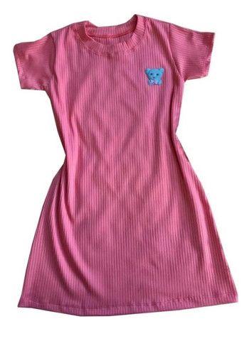 Kit 60 vestido infantil canelado fashion - Foto 2
