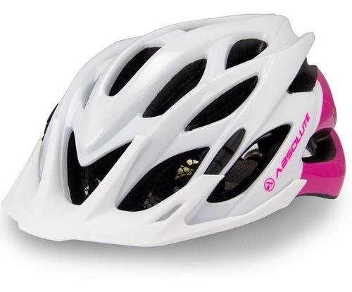 Capacete Absolute Mia Bco/Rosa P/M -absolute - CH