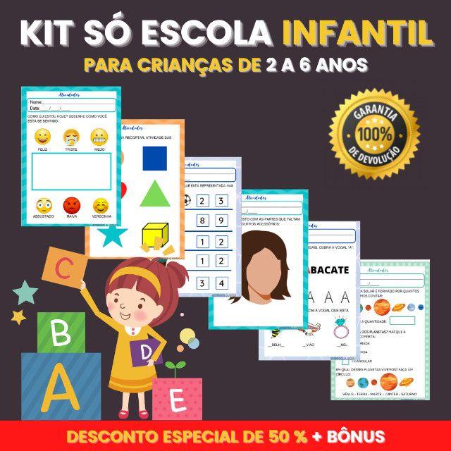 .:: Kit de Atividades ::. Kit Infantil - Foto 2
