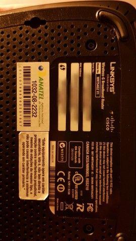 Roteador Wi-Fi Cisco Linksys WRT54G2 - Foto 2