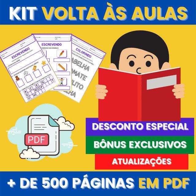 .:: Kit de Atividades ::. Kit Volta as Aulas - Foto 4