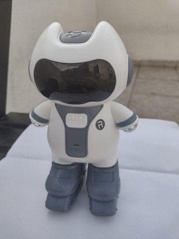 Smart Robot Robô Inteligente Musical Brinquedo Criança Luzes - Foto 5