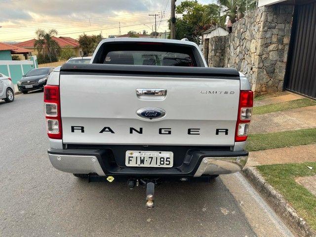 Ford Ranger 3.2 Limited Turbo diesel 4x4 Automática 2015 / Aceito trocas financio 60x - Foto 7