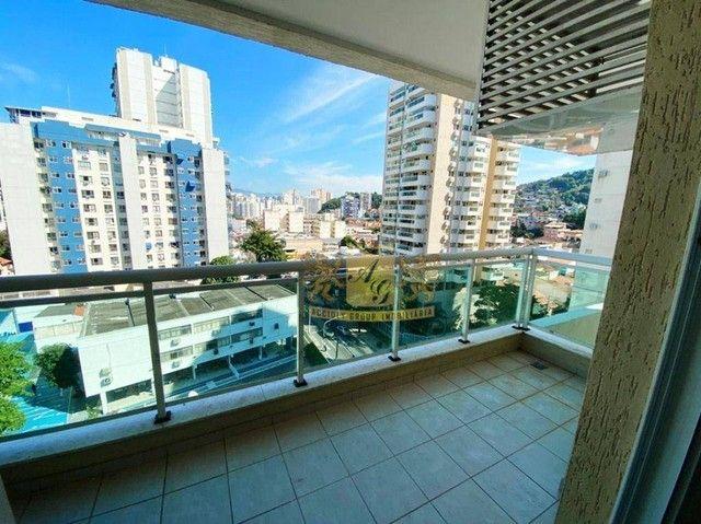 Apartamento com 2 dormitórios para alugar, 80 m² por R$ 1.500,00/mês - Santa Rosa - Niteró