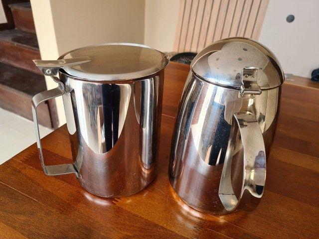 Kit bule para chá, café, leite e jarra para água