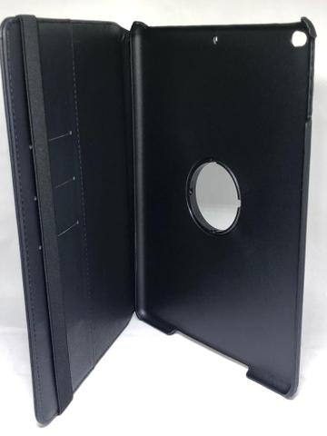 capa preta giratória de couro sintético ipad 6 computadores e
