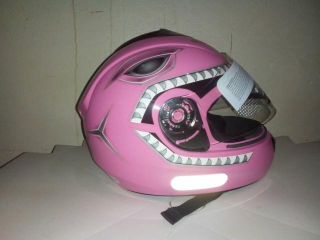 Capacete Fly rosa tamanho 54 (novo)