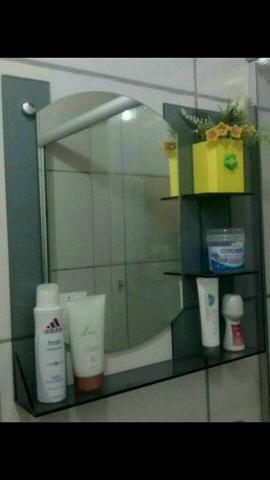 BUPenteadeira para banheiro incolor e fumei