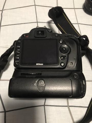 Nikon d90 Só Corpo + Grip