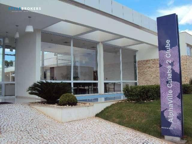 Terreno à venda no Condomínio Alphaville II, 607 m² por R$ 425.313 - Alphaville II - Cuiab - Foto 3