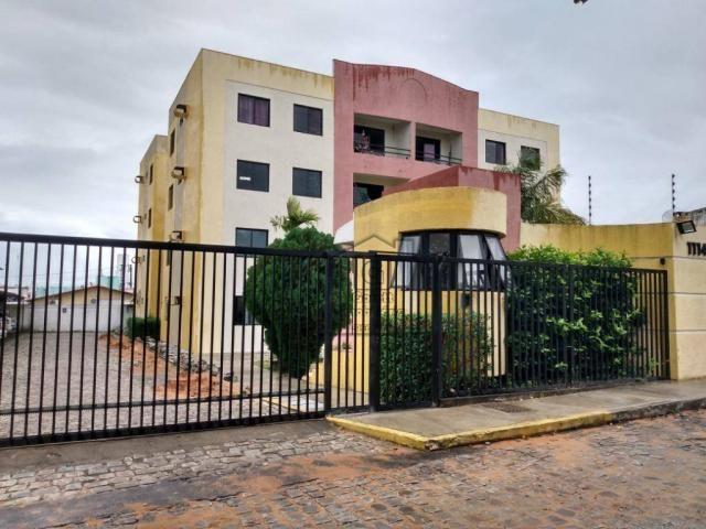 Apartamento com 3 dormitórios à venda, 72 m² por R$ 180.000 - Nova Parnamirim - Parnamirim - Foto 2