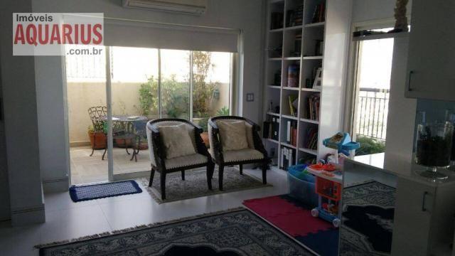 Apartamento Cobertura Jardim Aquarius Edificio Premiere 216m² - Foto 3